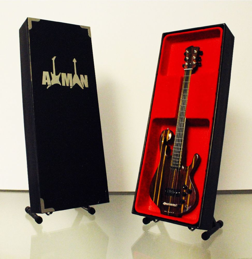 (Primus) Les Claypool: Rainbow Bass - Miniature Guitar Replica (UK Seller)